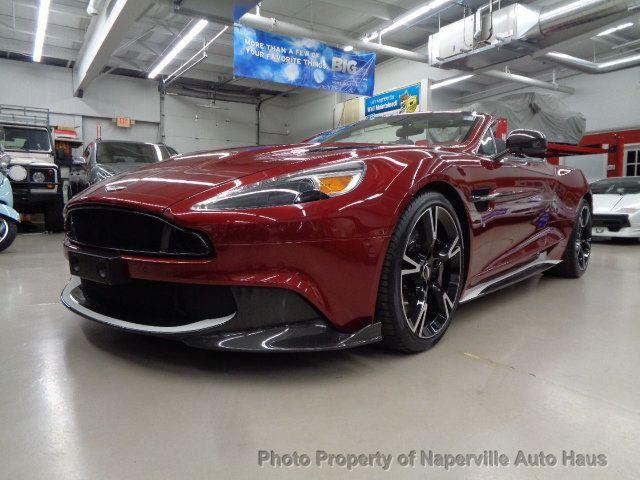 Aston Martin Used >> 2018 Used Aston Martin Vanquish S At Naperville Auto Haus Il Iid 19588174