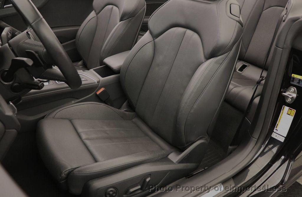 2018 Audi A5 Cabriolet CERTIFIED A5 2.0T QUATTRO PREMIUM PLUS AWD CAMERA NAV - 18518150 - 23