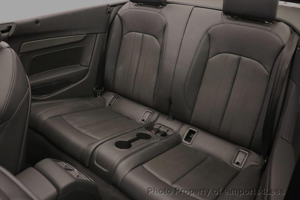 2018 Audi A5 Cabriolet CERTIFIED A5 2.0T QUATTRO PREMIUM PLUS AWD CAMERA NAV - 18518150 - 36