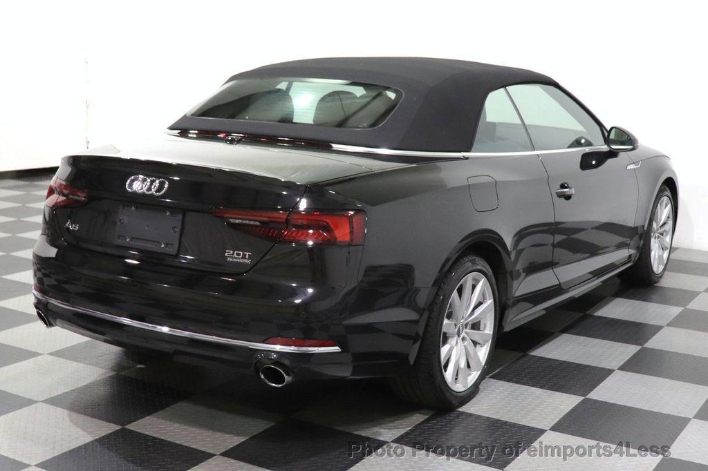 2018 Audi A5 Cabriolet CERTIFIED A5 2.0T QUATTRO PREMIUM PLUS AWD CAMERA NAV - 18518150 - 3