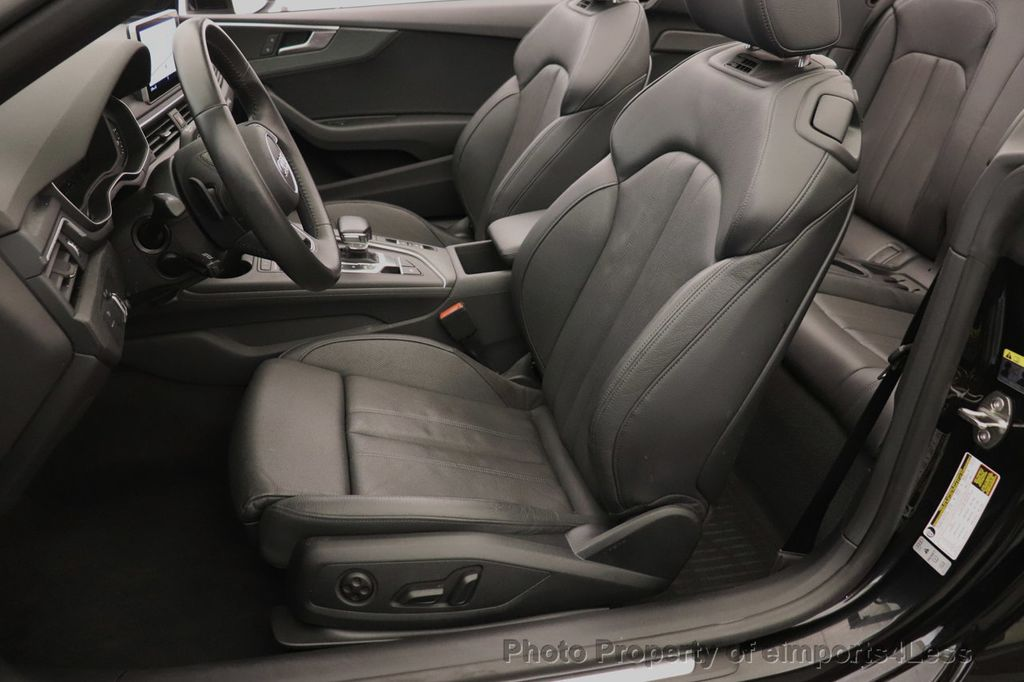 2018 Audi A5 Cabriolet CERTIFIED A5 2.0T QUATTRO PREMIUM PLUS AWD CAMERA NAV - 18518150 - 49