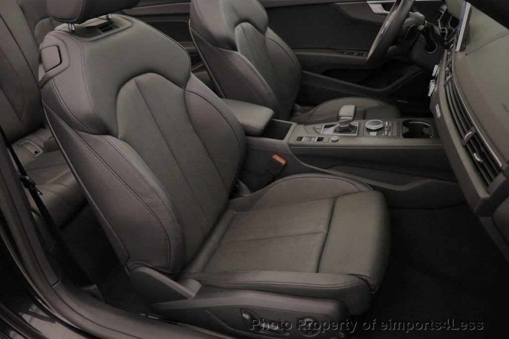 2018 Audi A5 Cabriolet CERTIFIED A5 2.0T QUATTRO PREMIUM PLUS AWD CAMERA NAV - 18518150 - 6