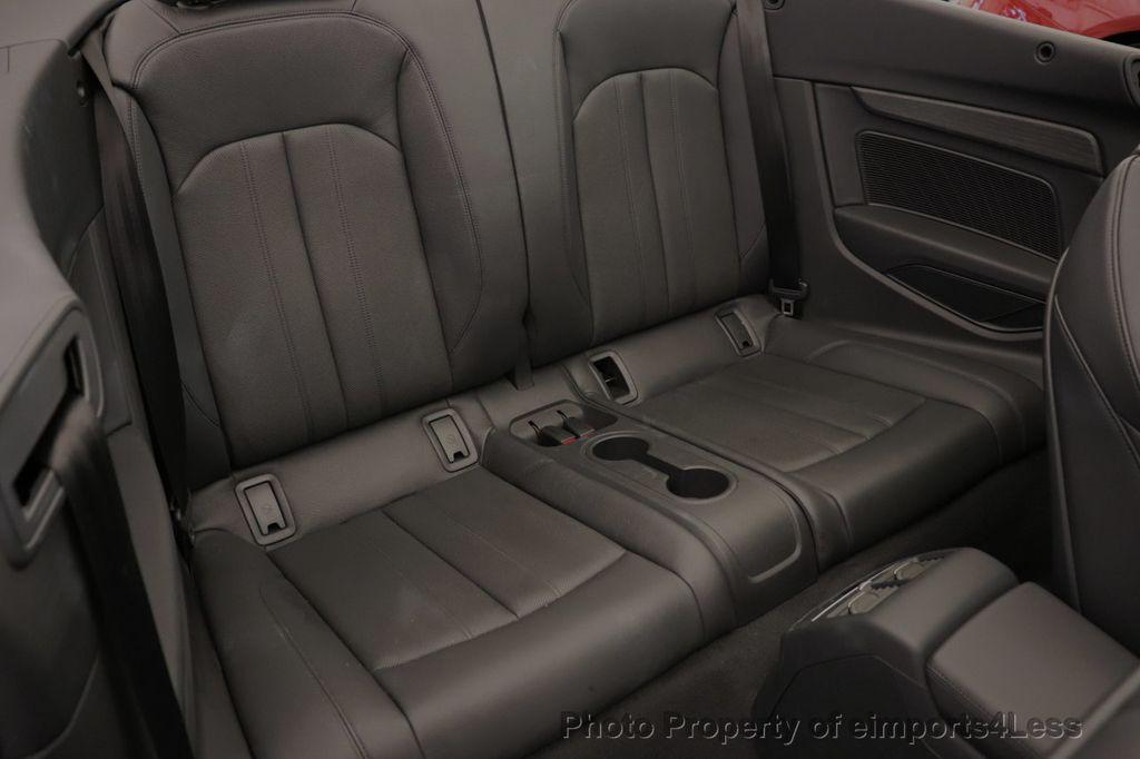 2018 Audi A5 Cabriolet CERTIFIED A5 2.0T QUATTRO PREMIUM PLUS AWD CAMERA NAV - 18518150 - 8