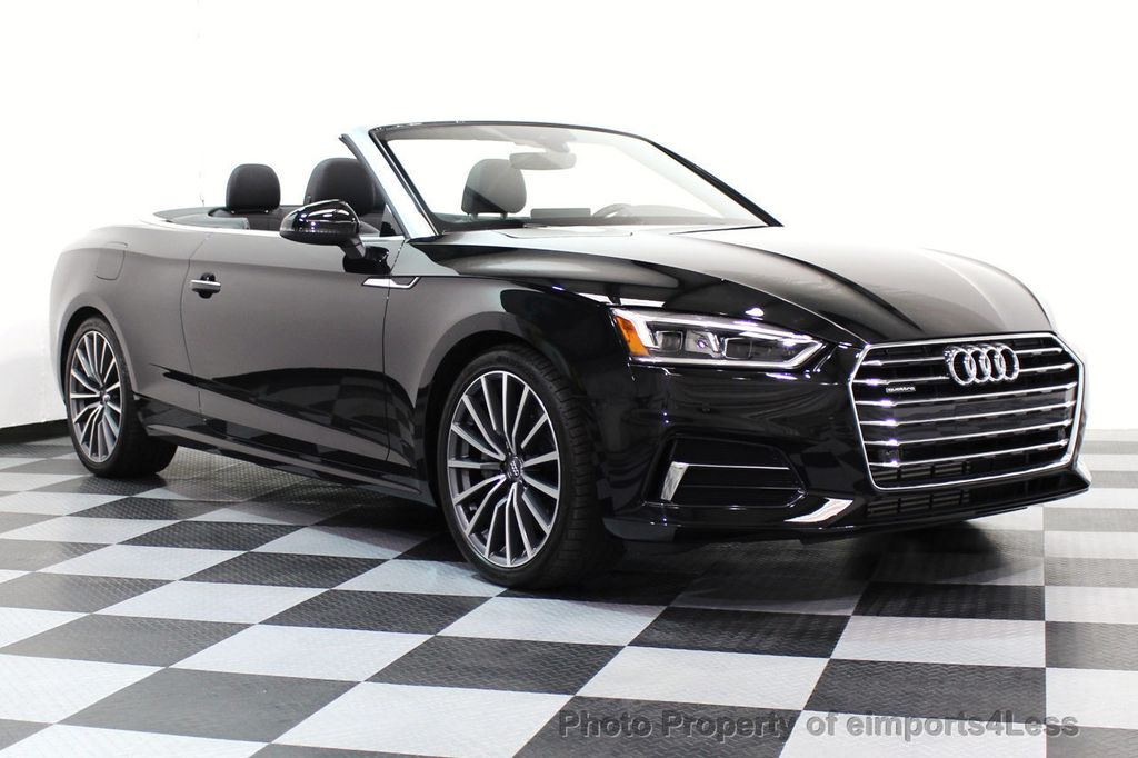 2018 used audi a5 cabriolet certified a5 quattro. Black Bedroom Furniture Sets. Home Design Ideas
