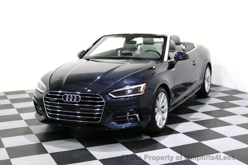 2018 used audi a5 cabriolet certified a5 quattro premium plus awd luxury navi at. Black Bedroom Furniture Sets. Home Design Ideas