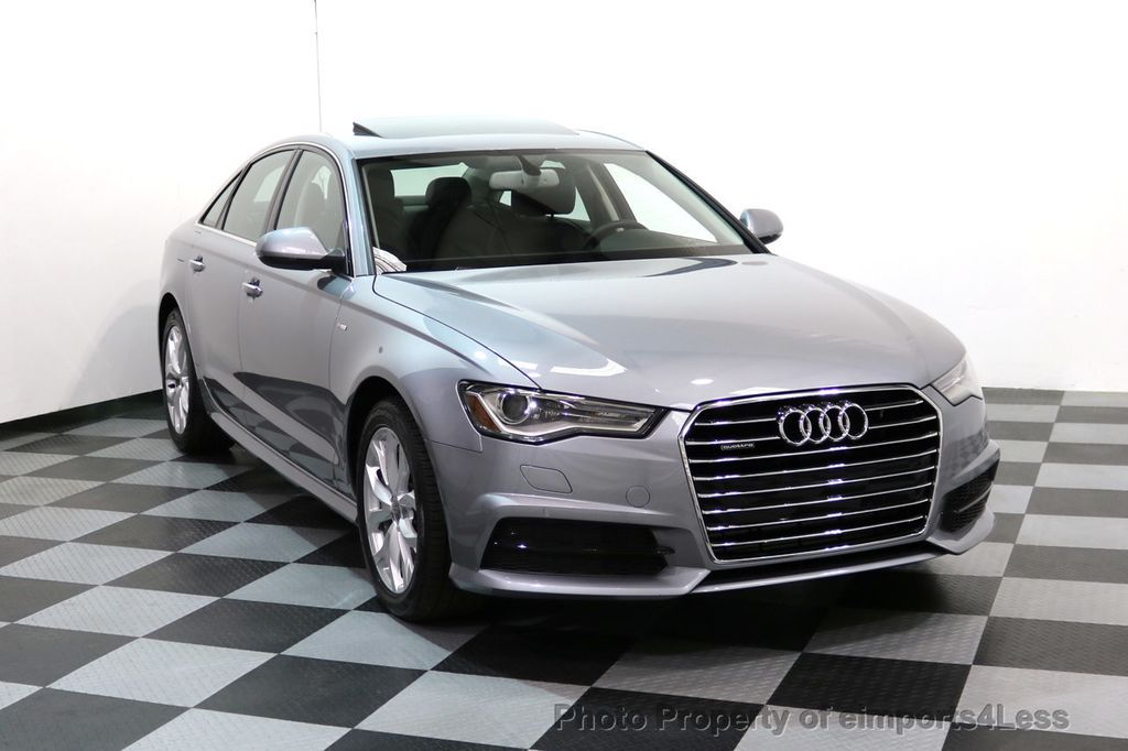 2018 used audi a6 certified a6 quattro awd blind spot. Black Bedroom Furniture Sets. Home Design Ideas
