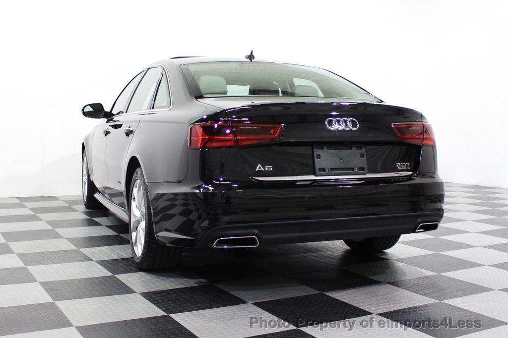 2018 Audi A6 CERTIFIED A6 2.0t Quattro Premium Plus AWD LED CAM NAV - 18130109 - 16