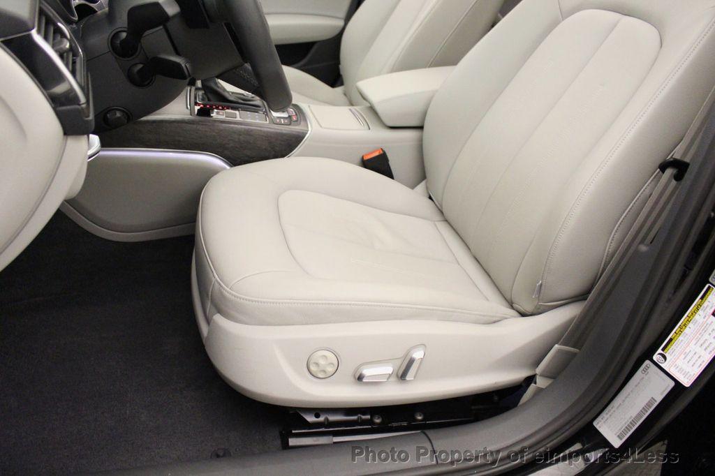 2018 Audi A6 CERTIFIED A6 2.0t Quattro Premium Plus AWD LED CAM NAV - 18130109 - 23