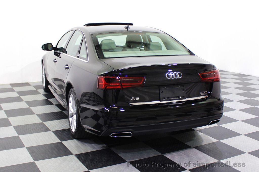 2018 Audi A6 CERTIFIED A6 2.0t Quattro Premium Plus AWD LED CAM NAV - 18130109 - 30