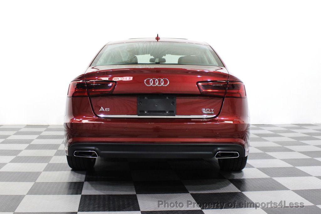 2018 Audi A6 CERTIFIED A6 3.0t V6 Quattro Premium Plus AWD DRIVER ASSIST NAV - 18138633 - 17