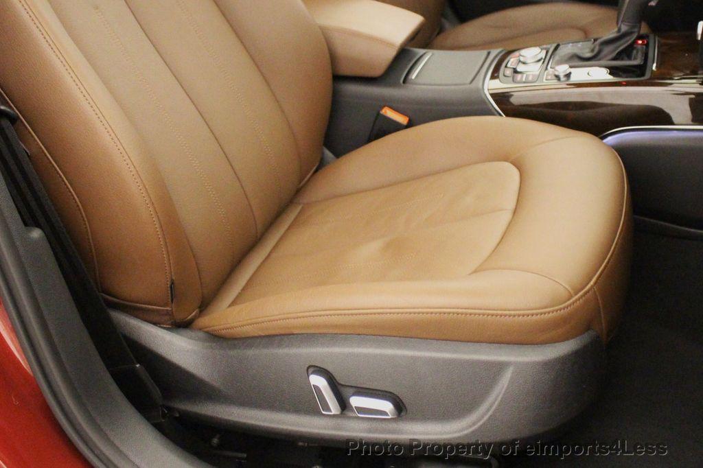 2018 Audi A6 CERTIFIED A6 3.0t V6 Quattro Premium Plus AWD DRIVER ASSIST NAV - 18138633 - 24