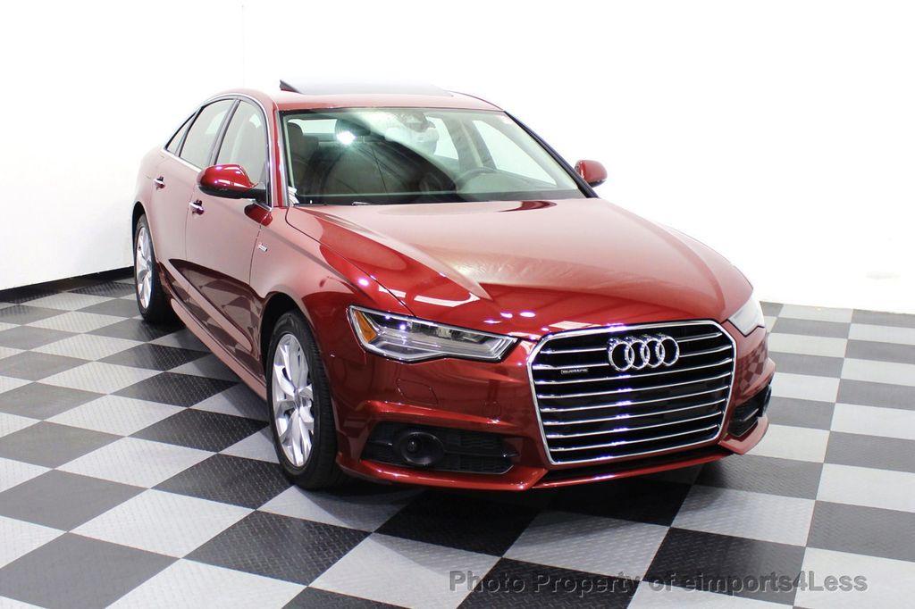 2018 Audi A6 CERTIFIED A6 3.0t V6 Quattro Premium Plus AWD DRIVER ASSIST NAV - 18138633 - 29