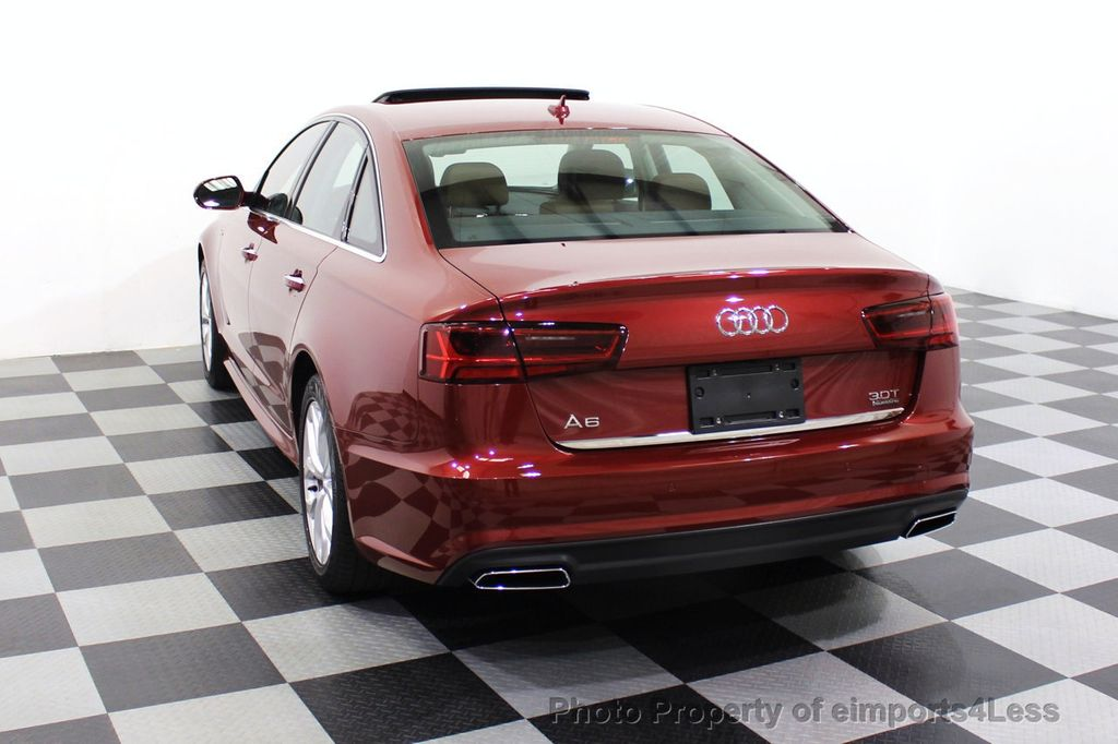 2018 Audi A6 CERTIFIED A6 3.0t V6 Quattro Premium Plus AWD DRIVER ASSIST NAV - 18138633 - 30