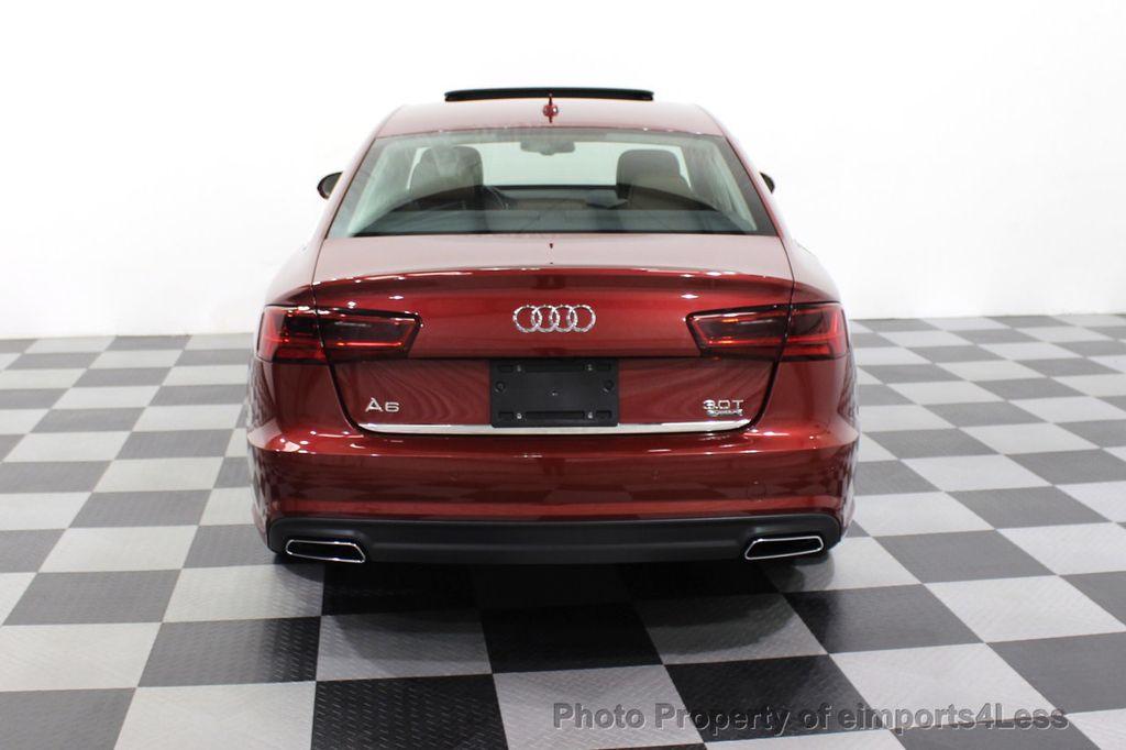 2018 Audi A6 CERTIFIED A6 3.0t V6 Quattro Premium Plus AWD DRIVER ASSIST NAV - 18138633 - 31