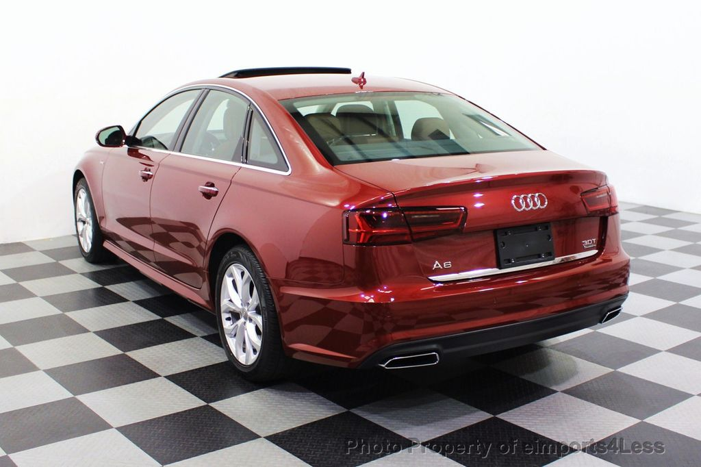 2018 Audi A6 CERTIFIED A6 3.0t V6 Quattro Premium Plus AWD DRIVER ASSIST NAV - 18138633 - 46