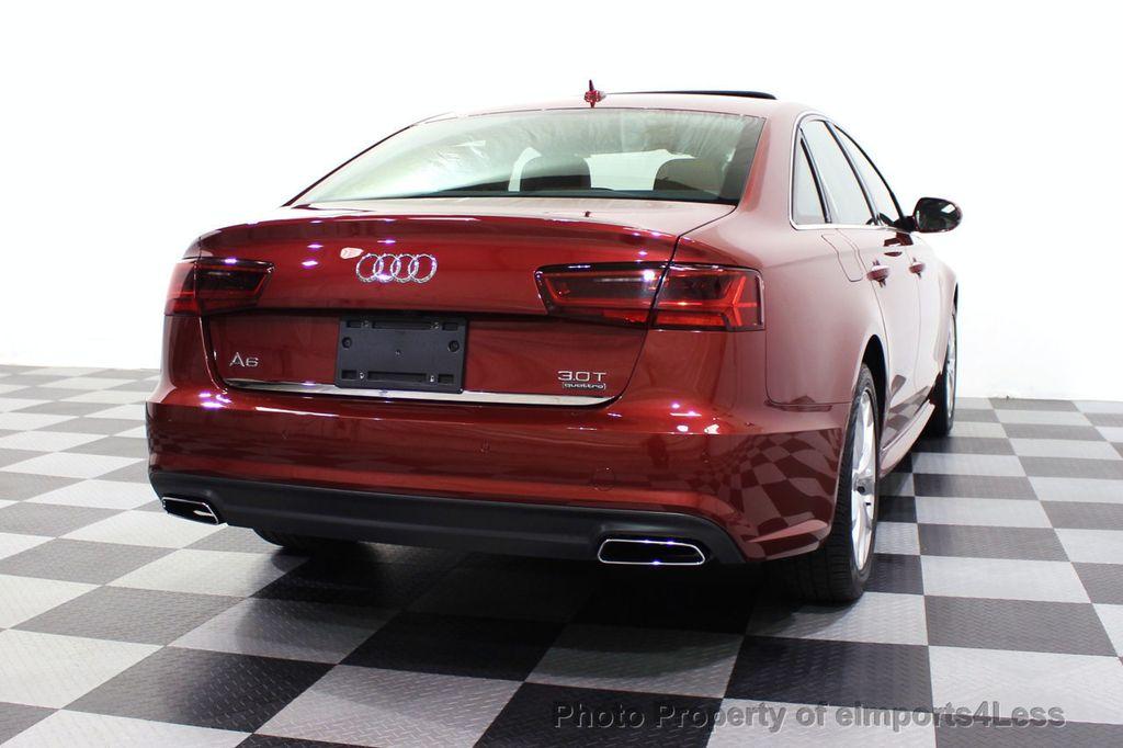2018 Audi A6 CERTIFIED A6 3.0t V6 Quattro Premium Plus AWD DRIVER ASSIST NAV - 18138633 - 54