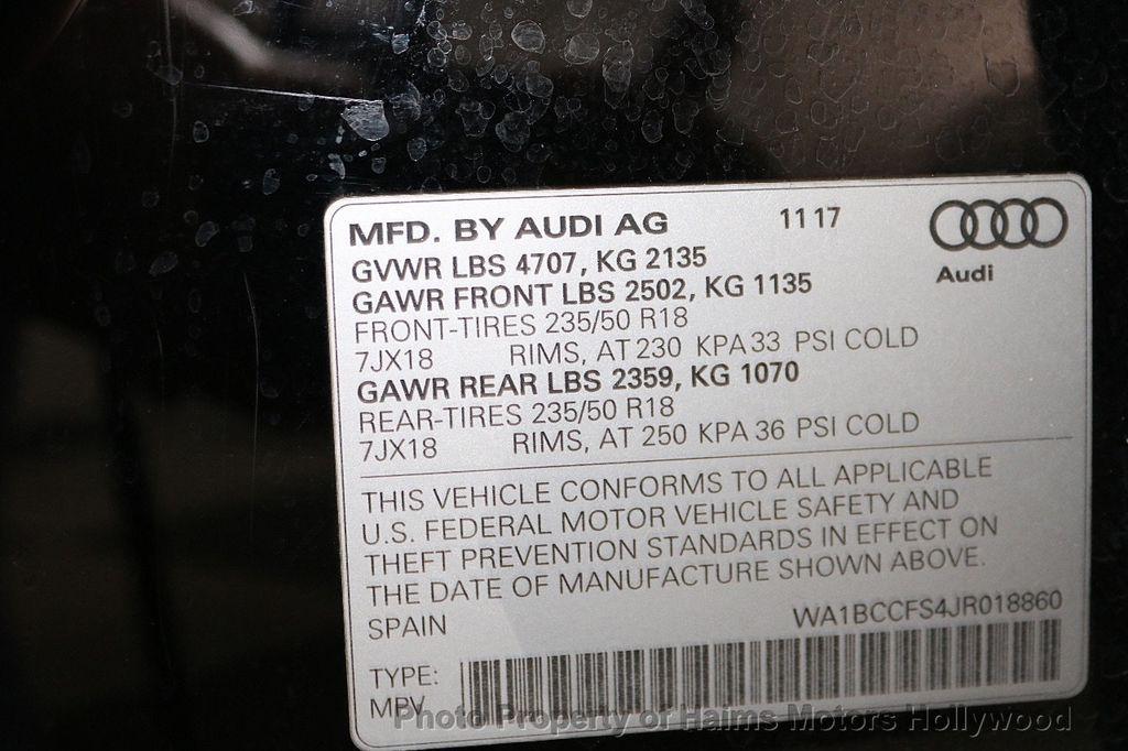 2018 Audi Q3 2.0 TFSI Premium FWD - 18271916 - 33