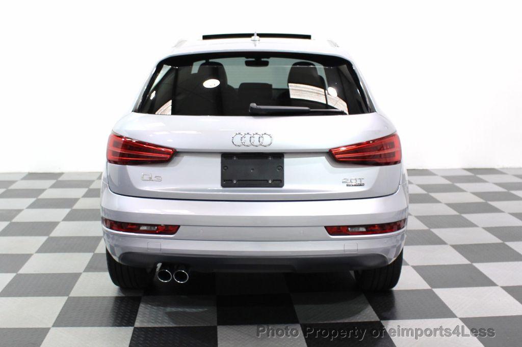 2018 Audi Q3 CERTIFIED Audi Q3 2.0T Quattro AWD SUV S line Nav Cam Pano - 18257414 - 32