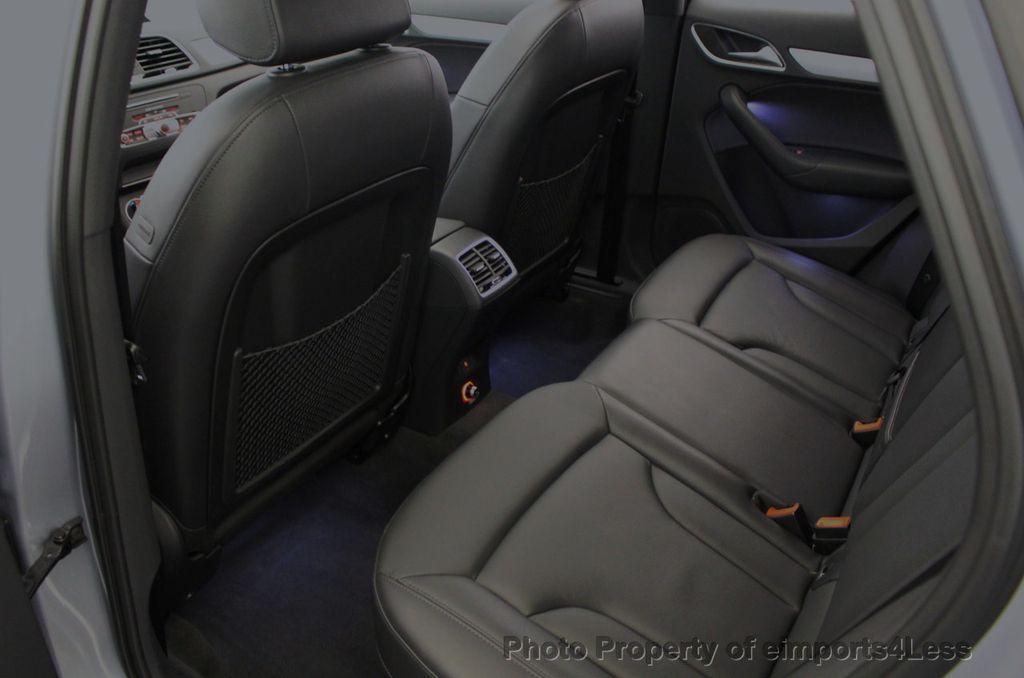 2018 Audi Q3 CERTIFIED Audi Q3 2.0T Quattro AWD SUV S line Nav Cam Pano - 18257414 - 37