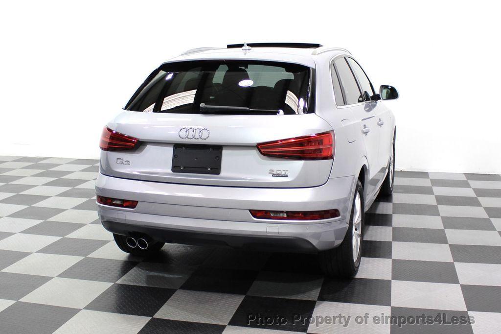 2018 Audi Q3 CERTIFIED Audi Q3 2.0T Quattro AWD SUV S line Nav Cam Pano - 18257414 - 49