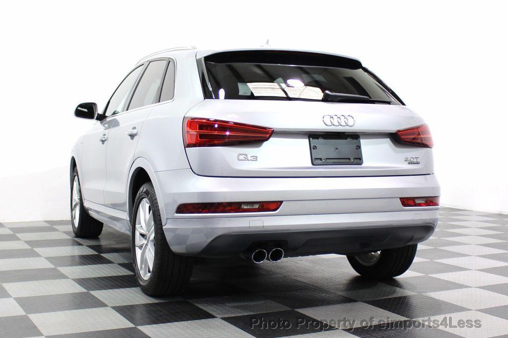 2018 Audi Q3 CERTIFIED Audi Q3 2.0T Quattro AWD SUV S line Nav Cam Pano - 18257414 - 55