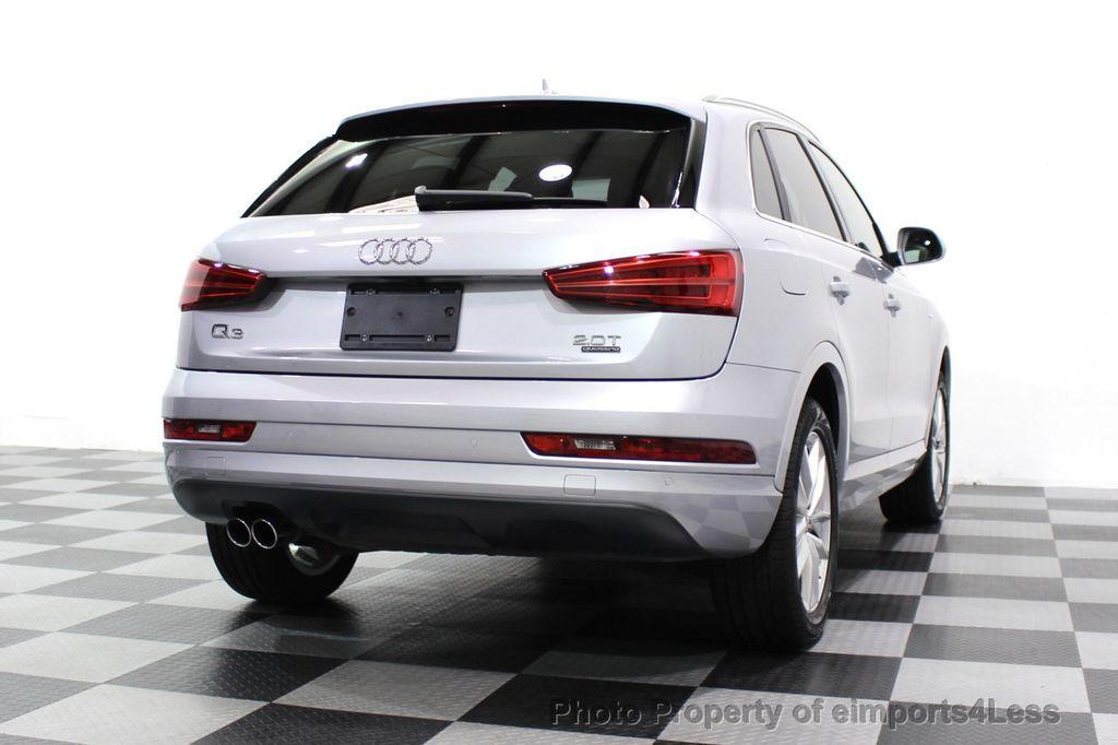 2018 Audi Q3 CERTIFIED Audi Q3 2.0T Quattro AWD SUV S line Nav Cam Pano - 18257414 - 56