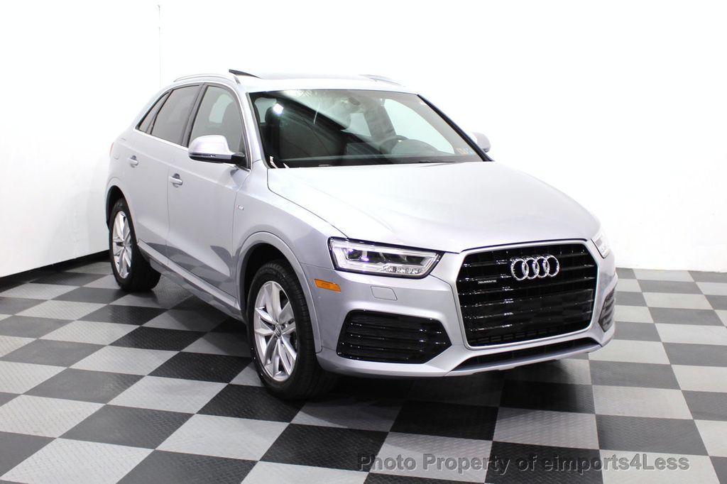 2018 Audi Q3 CERTIFIED Audi Q3 2.0T Quattro AWD SUV S line Nav Cam Pano - 18257414 - 57