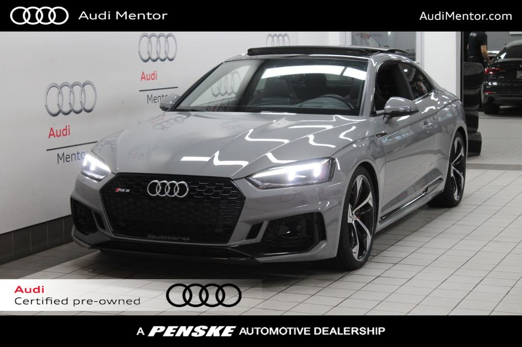 2018 Used Audi Rs 5 Coupe 2 9 Tfsi Quattro Tiptronic At Penske Cleveland Serving All Of Northeast Oh Iid 20458356