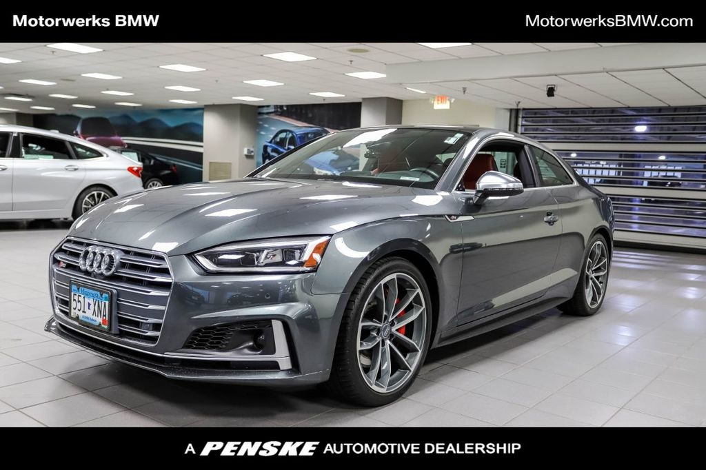 Used 2018 Audi S5 Coupe 2dr Cpe 3 0 Tfsi For Sale In Bloomington Minnesota Bf32675t Penskecars Com