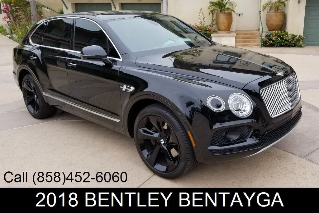 2018 Used Bentley Bentayga Onyx Edition Awd At Sports Car