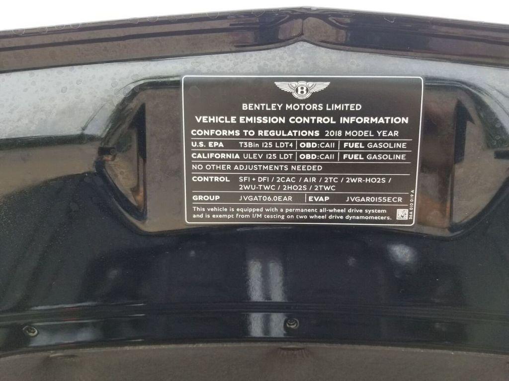 2018 Bentley Bentayga Onyx Edition AWD - 17887600 - 45
