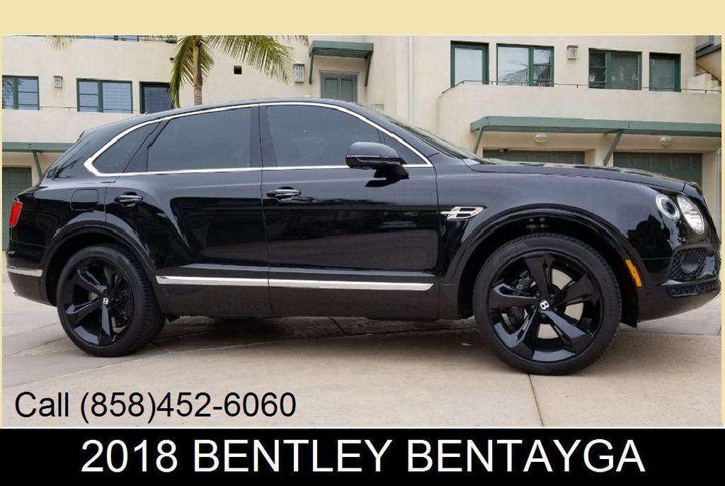 2018 Used Bentley Bentayga Onyx Edition Awd At Sports Car Company