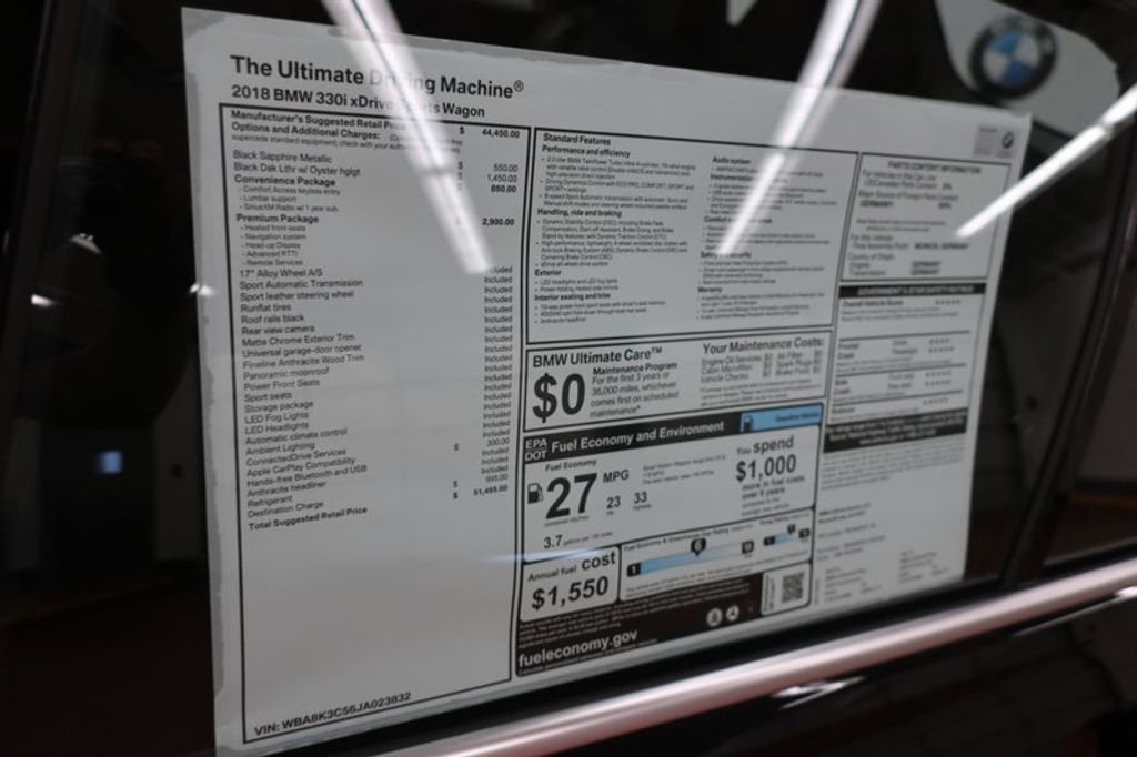 2018 BMW 3 Series 330i xDrive Sports - 16698639 - 41