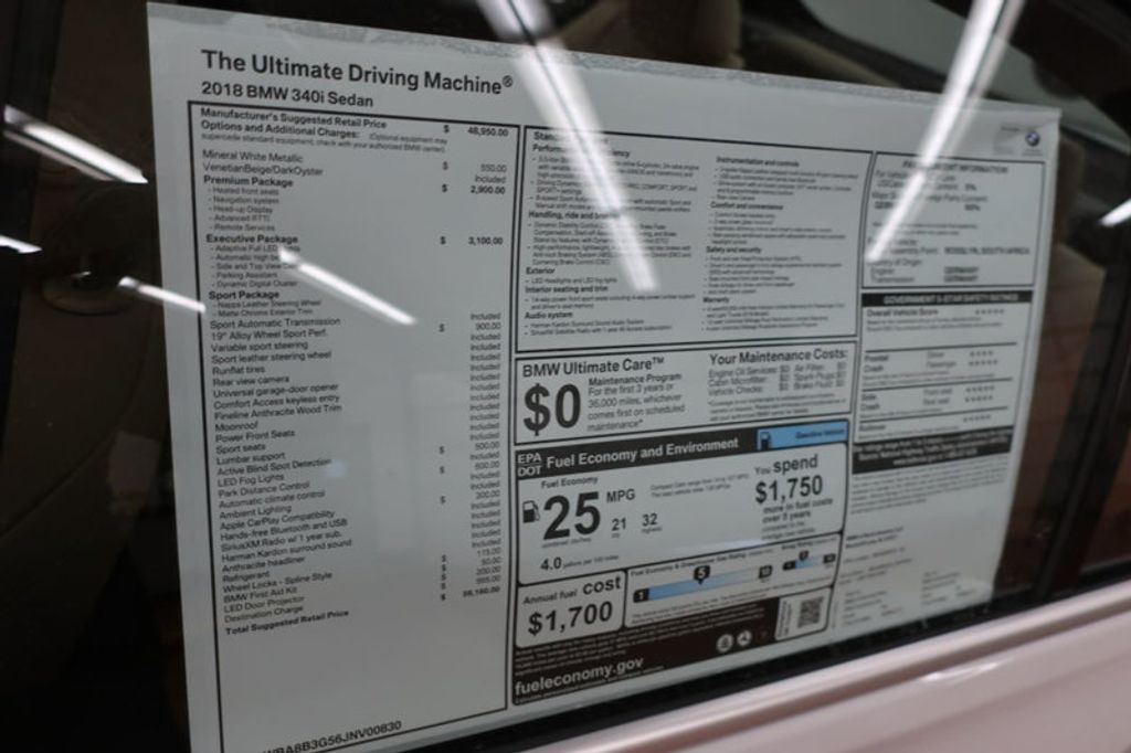 2018 BMW 3 Series 340i - 17118089 - 36