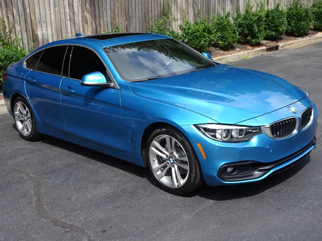 2018 Used Bmw 4 Series Gran Coupe Sport Prem One Owner Loaded At Michs Foreign Cars Serving Hickory Nc Iid 20236158