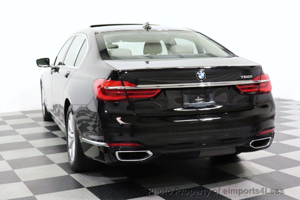 2018 BMW 7 Series CERTIFIED 750i NAV CAM PANO HK HUD LUX REAR SEATS - 18587080 - 13