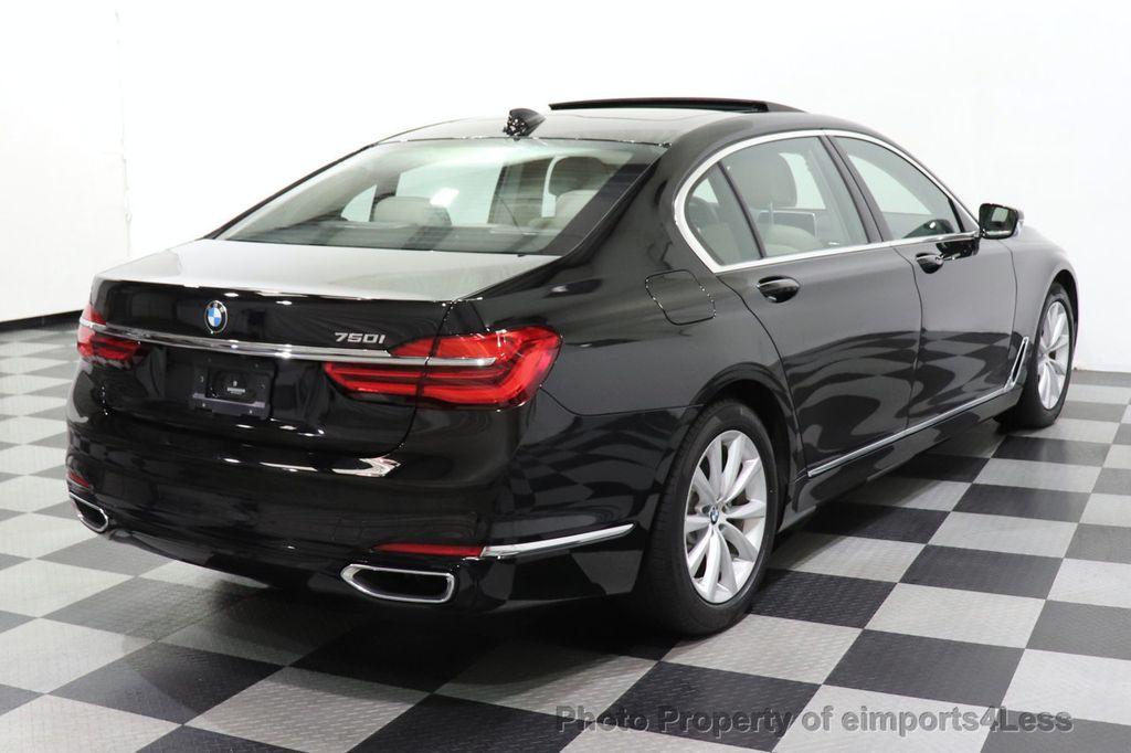 2018 BMW 7 Series CERTIFIED 750i NAV CAM PANO HK HUD LUX REAR SEATS - 18587080 - 15