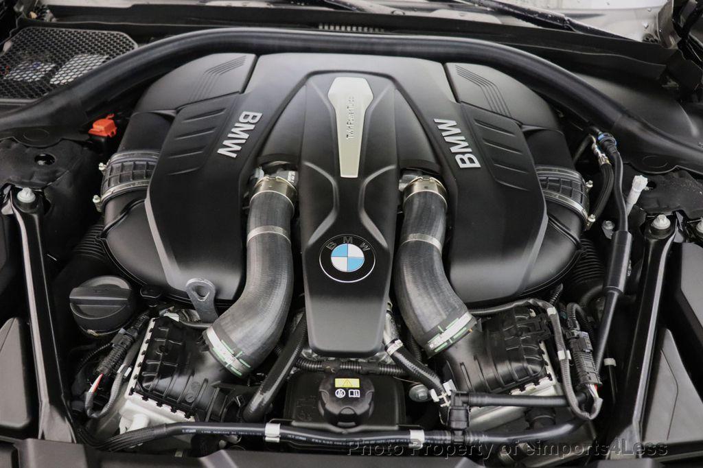 2018 BMW 7 Series CERTIFIED 750i NAV CAM PANO HK HUD LUX REAR SEATS - 18587080 - 17