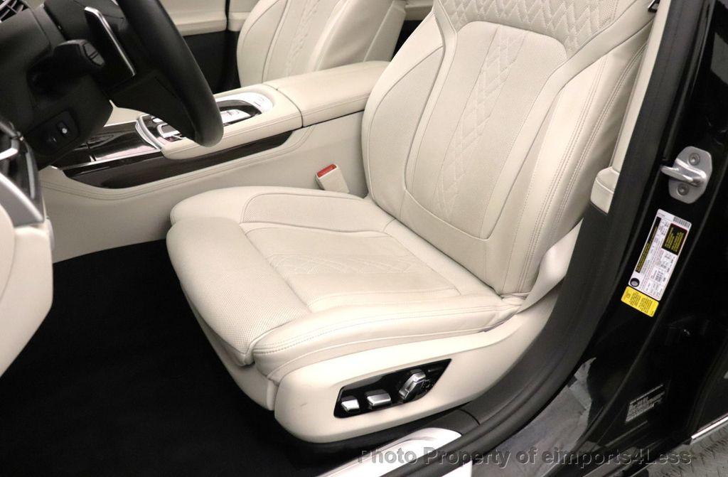 2018 BMW 7 Series CERTIFIED 750i NAV CAM PANO HK HUD LUX REAR SEATS - 18587080 - 20