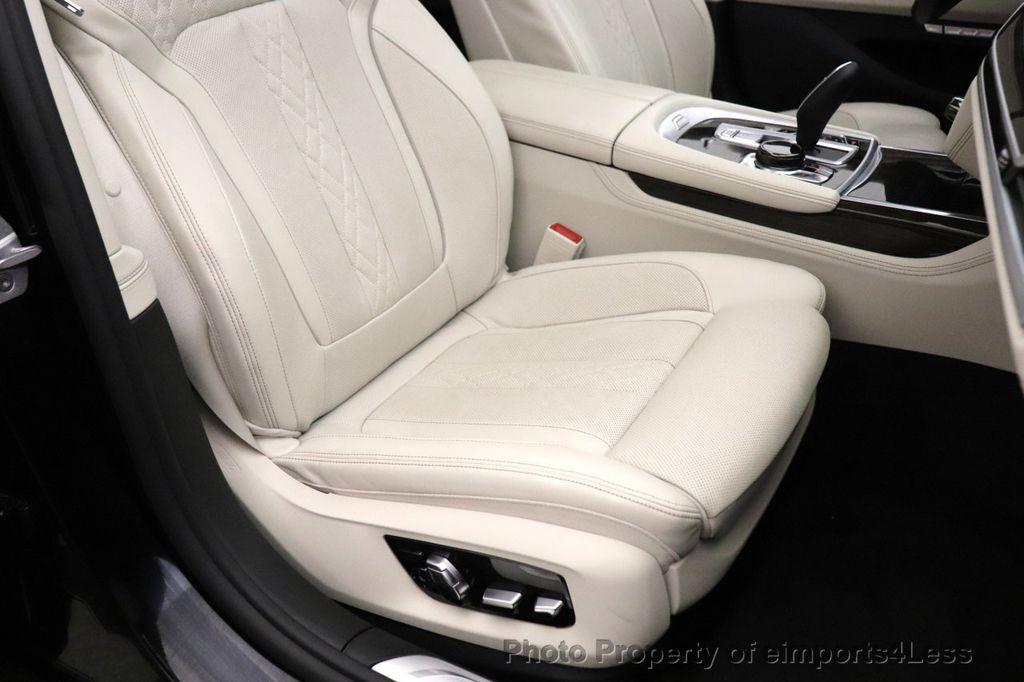 2018 BMW 7 Series CERTIFIED 750i NAV CAM PANO HK HUD LUX REAR SEATS - 18587080 - 21