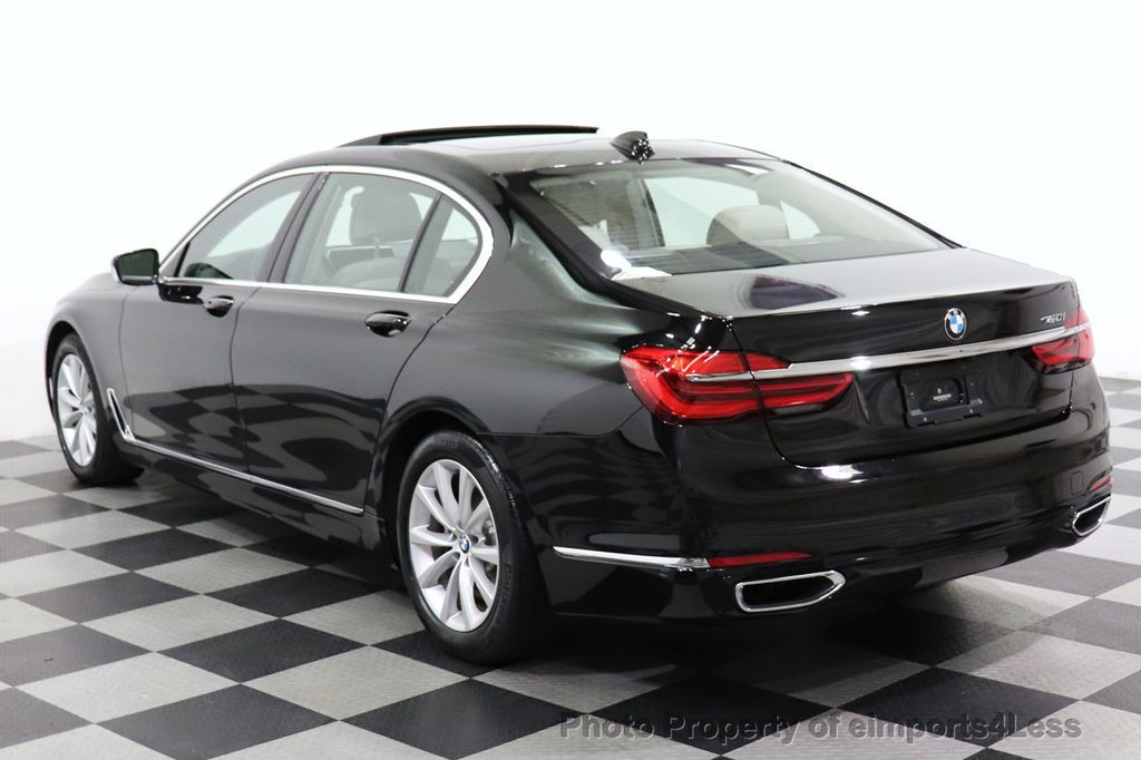 2018 BMW 7 Series CERTIFIED 750i NAV CAM PANO HK HUD LUX REAR SEATS - 18587080 - 24