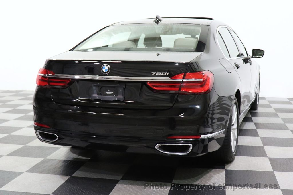 2018 BMW 7 Series CERTIFIED 750i NAV CAM PANO HK HUD LUX REAR SEATS - 18587080 - 26