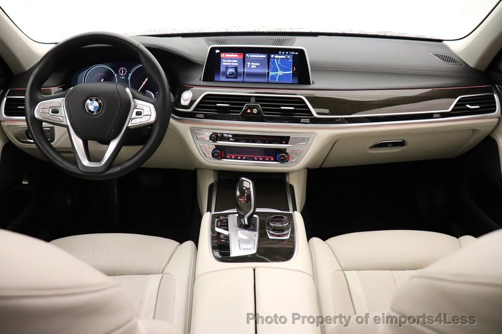 2018 BMW 7 Series CERTIFIED 750i NAV CAM PANO HK HUD LUX REAR SEATS - 18587080 - 28