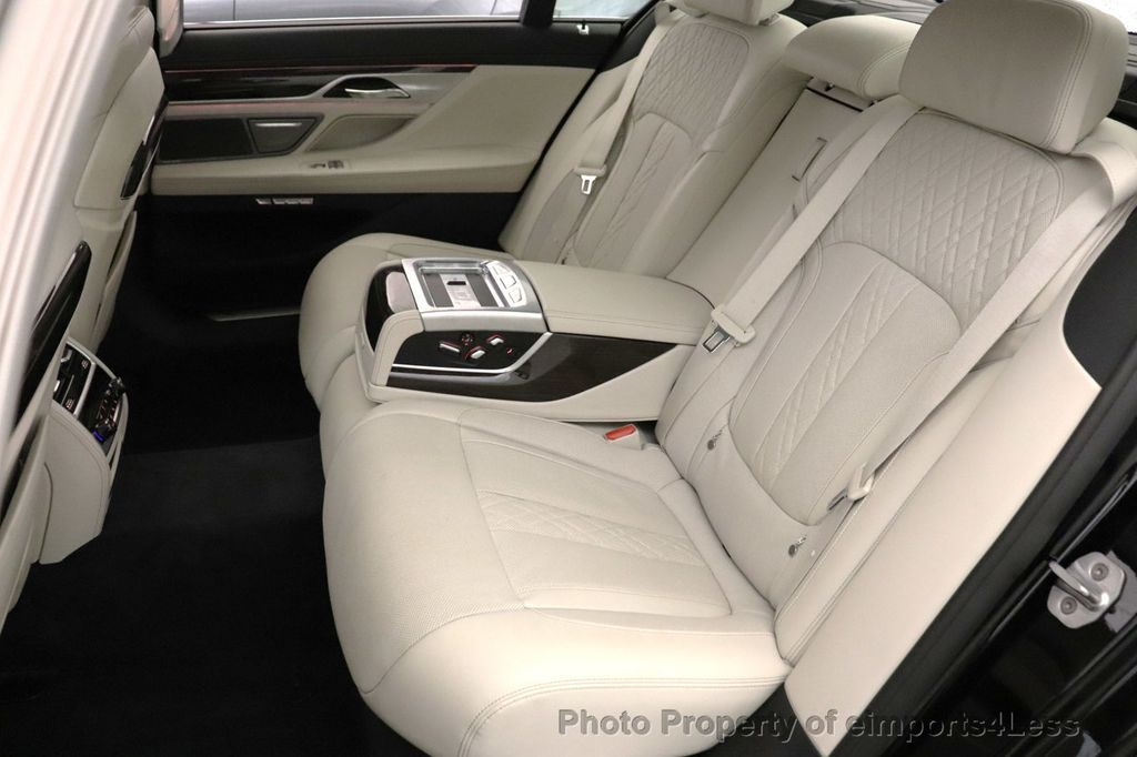 2018 BMW 7 Series CERTIFIED 750i NAV CAM PANO HK HUD LUX REAR SEATS - 18587080 - 30