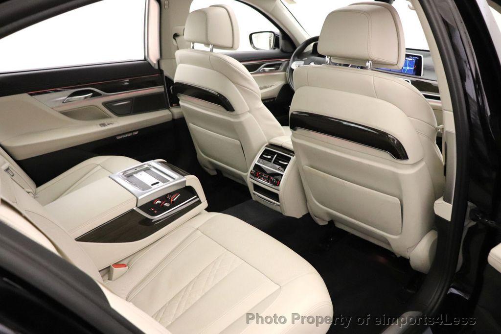 2018 BMW 7 Series CERTIFIED 750i NAV CAM PANO HK HUD LUX REAR SEATS - 18587080 - 31