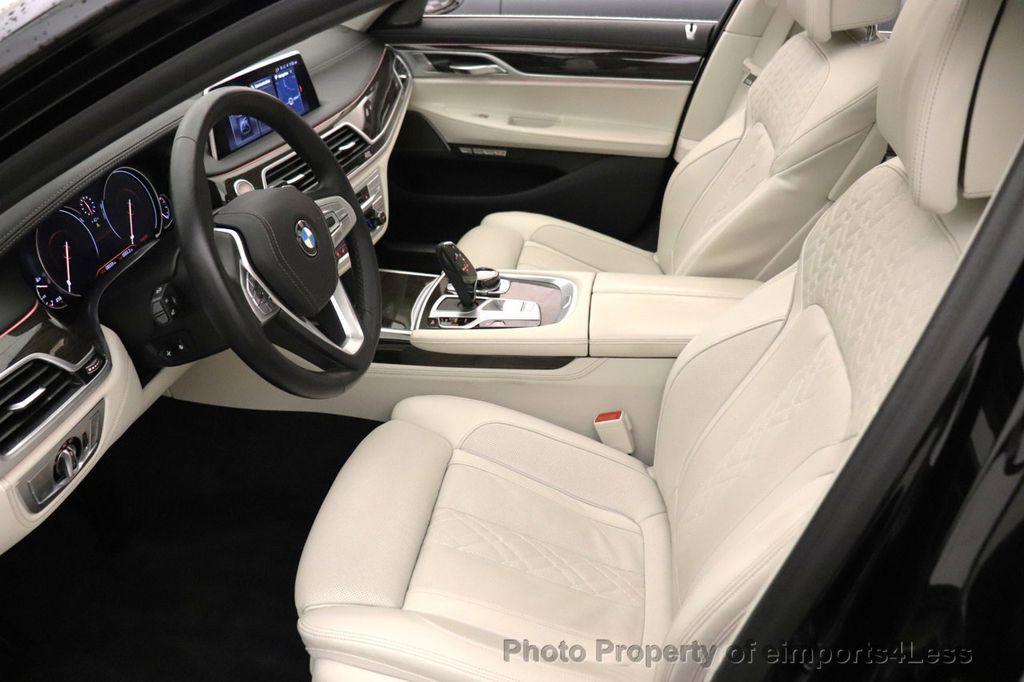 2018 BMW 7 Series CERTIFIED 750i NAV CAM PANO HK HUD LUX REAR SEATS - 18587080 - 32