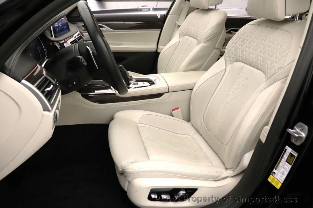 2018 BMW 7 Series CERTIFIED 750i NAV CAM PANO HK HUD LUX REAR SEATS - 18587080 - 33