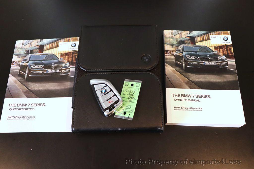 2018 BMW 7 Series CERTIFIED 750i NAV CAM PANO HK HUD LUX REAR SEATS - 18587080 - 34