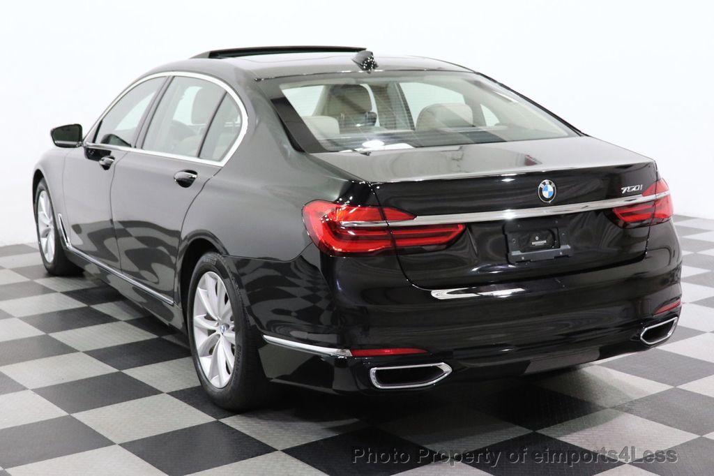 2018 BMW 7 Series CERTIFIED 750i NAV CAM PANO HK HUD LUX REAR SEATS - 18587080 - 3