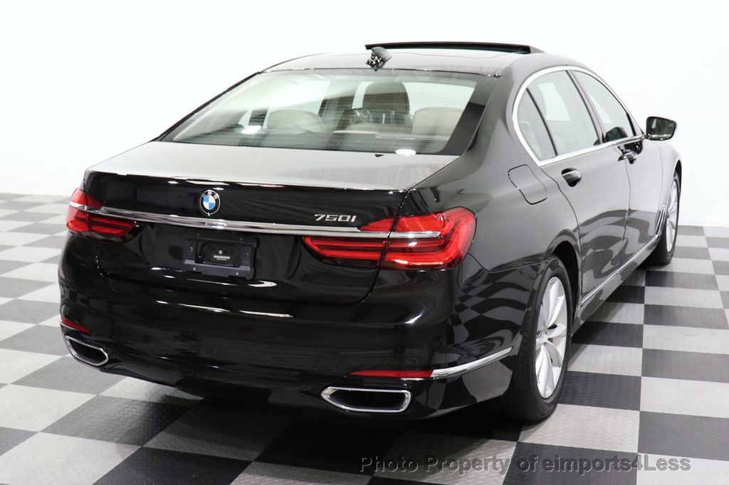 2018 BMW 7 Series CERTIFIED 750i NAV CAM PANO HK HUD LUX REAR SEATS - 18587080 - 39